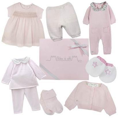 Baby Girls First Pink Wardrobe - Chateau de Sable