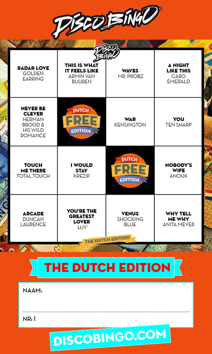 Disco Bingo The Dutch Edition *Digitale Version