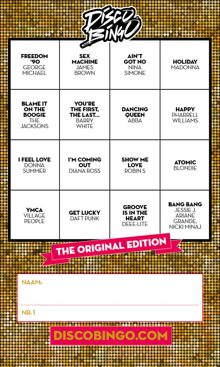 Disco Bingo The Original Edition *Digital Version