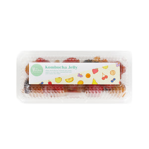 Yocha Kombucha Singapore - Kombucha Jelly - packed in a box of 20 pieces