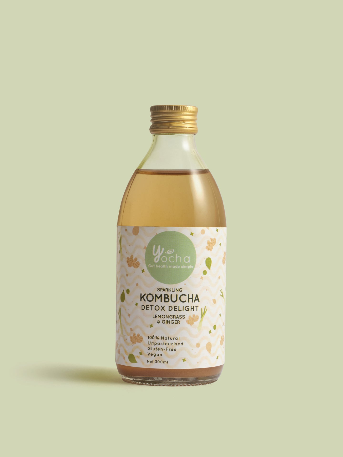 Detox Delight: Lemongrass & Ginger 300ml