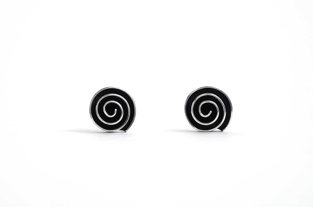 Millie Spiral Stud Earrings