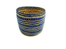 Drew Handwoven Palm Leaf Basket