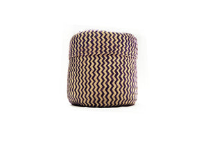 Zonda Handwoven Palm Leaf Basket