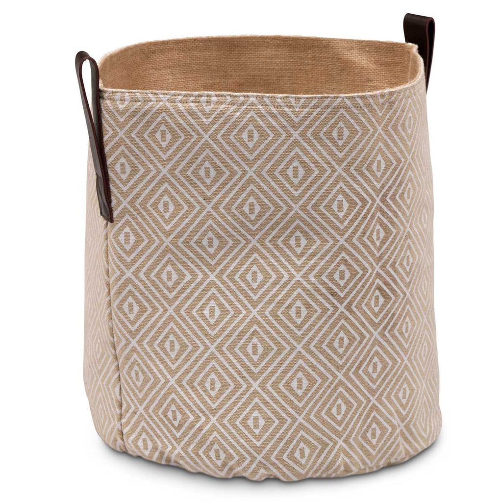 Diamond Print Storage Basket