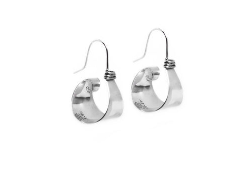Valencia Statement Hoop Earrings
