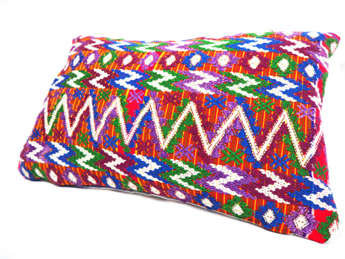 Tecpán Zag Huipil Cushion