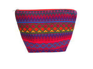 Huipil Make Up Bag
