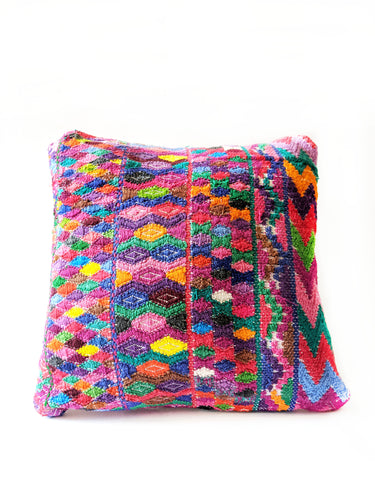 San Juan Huipil Cushion