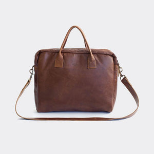 genuine Leather rowdy bags Laptop Bags