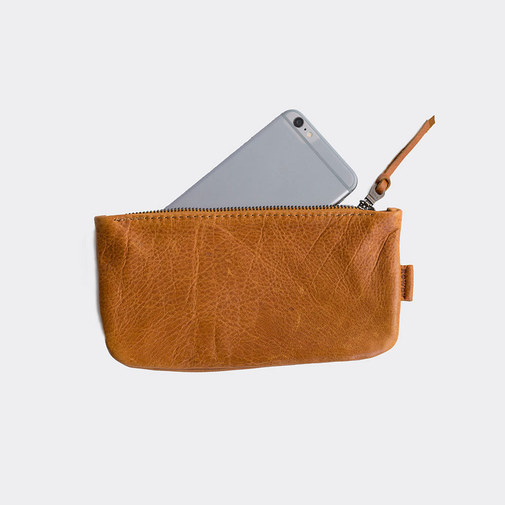 Leather purse for women