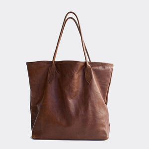 ToteOpen Rich Wax Brown