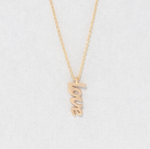 Dainty Love Charm Necklace