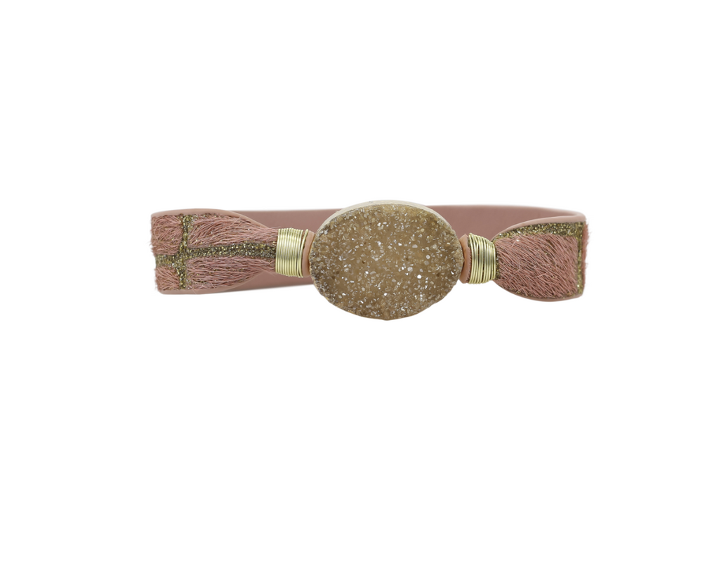 DRUZY METALLIC CUFF By Erimish