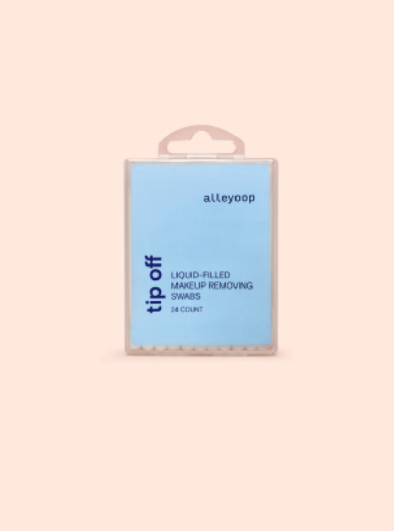 Tip Off -- Liquid-Filled Makeup Removing Swabs By Alleyoop