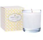 Lemon Chiffon Soy Candle in CLEAR glass-11 oz