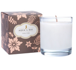 Pura Vida Soy Candle in CLEAR glass 11 oz