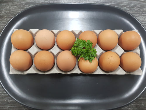 LOCAL FARM FRESH EGGS DOZEN (12)