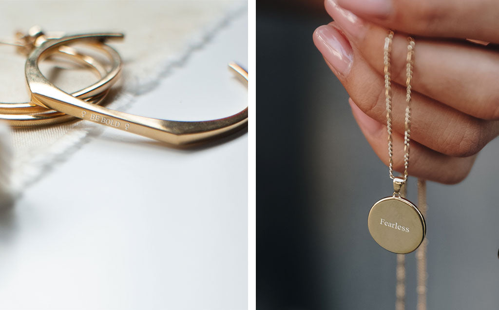 Jewellery engraving inspiration