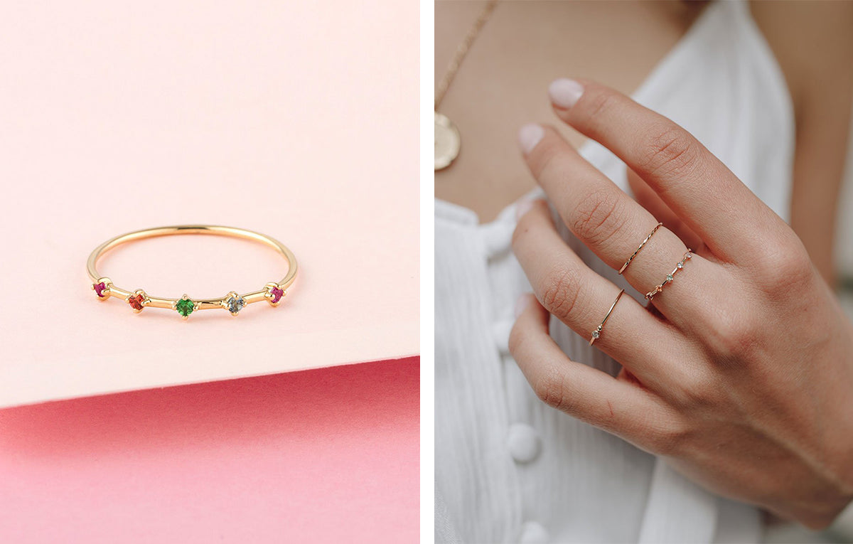 How to: a guide to stacking rings