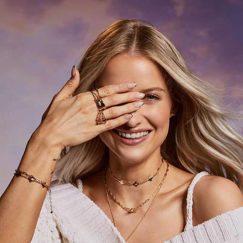 PREORDER: Inthefrow Saturn Silver Bracelet