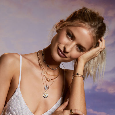 Inthefrow Zodiac Silver Necklace