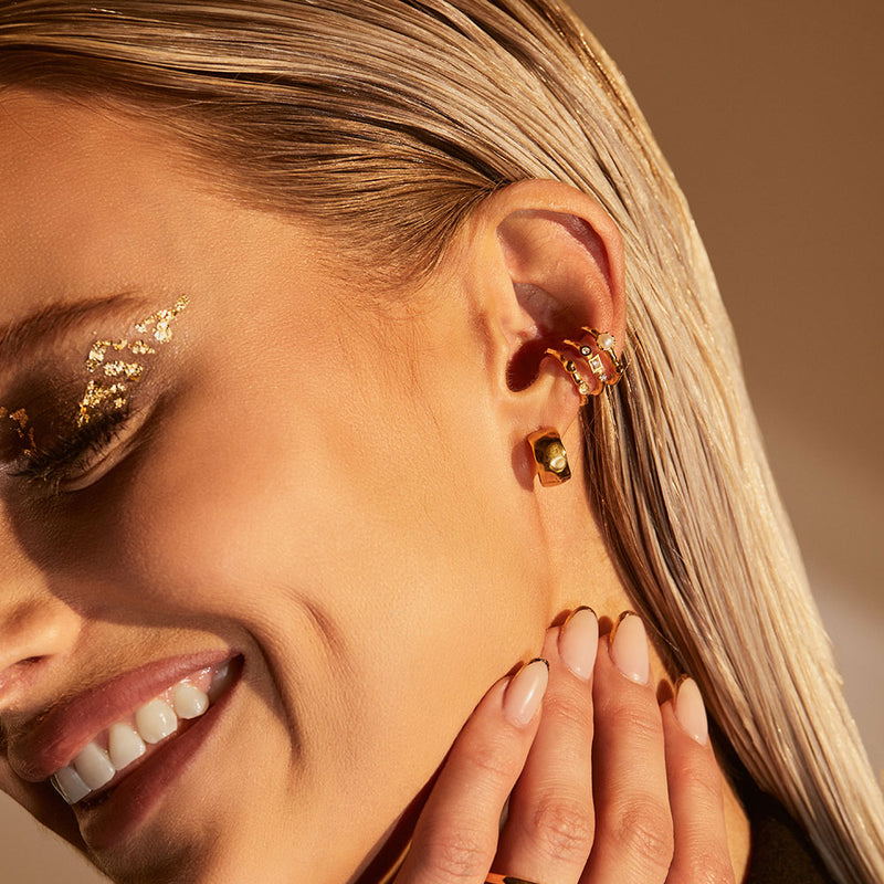 Inthefrow Orion Ear Cuff - Gold