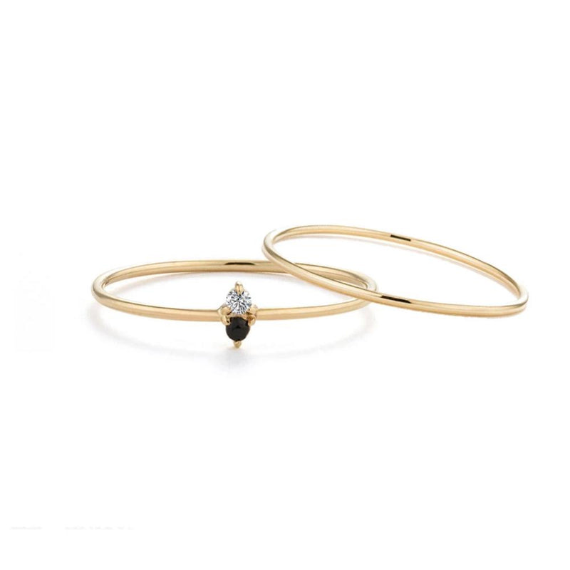 Classic Ring Stacking Set - Edge of Ember Jewellery