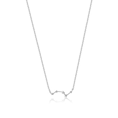 Constellation Diamond Necklace - White Gold - Edge of Ember Jewellery