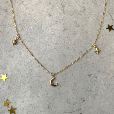Cosmic Charm Necklace - Edge of Ember Jewellery