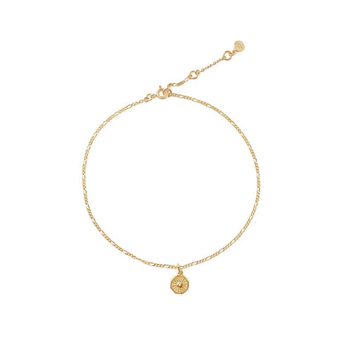 Lumina Charm Anklet Chain - Edge of Ember Jewellery