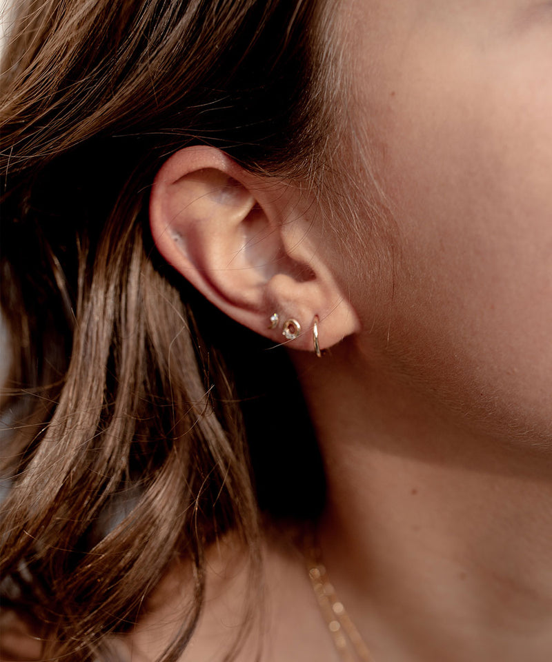 Classic Blue Ear Stacking Set - Edge of Ember Jewellery