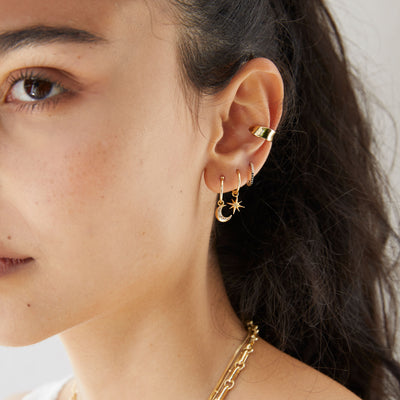 Wave Gold Ear Cuff