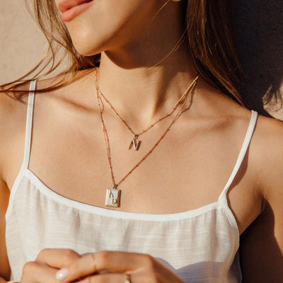Dreamer Charm Necklace - Edge of Ember Jewellery