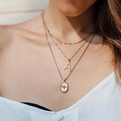 Serene Charm Necklace - Edge of Ember Jewellery