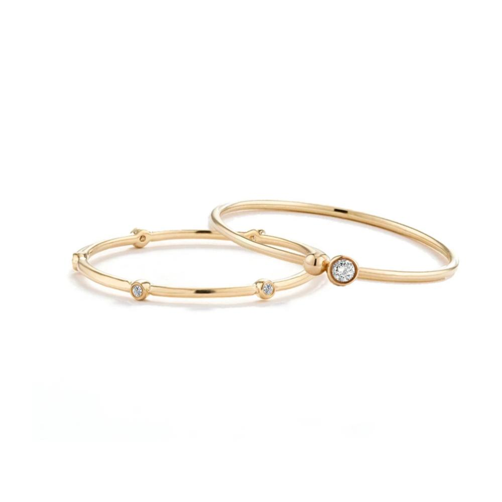 Dainty Ring Stacking Set - Edge of Ember Jewellery
