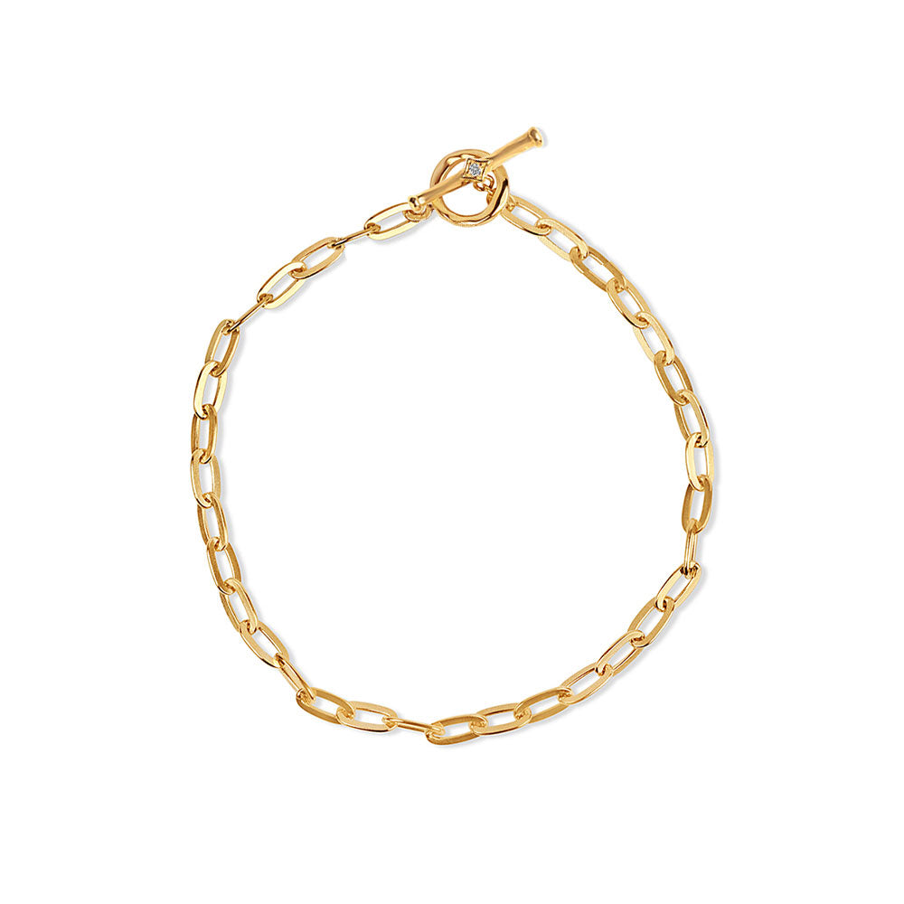 PREORDER: Inthefrow Saturn Gold Bracelet