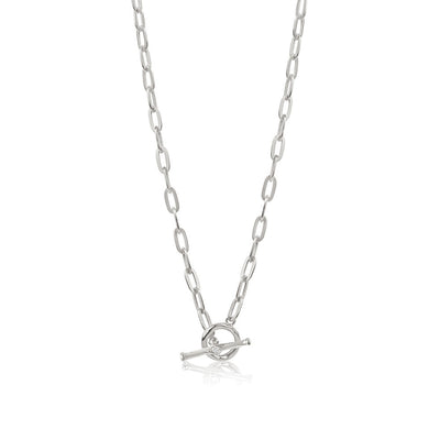 Inthefrow Saturn Necklace - Silver - Edge of Ember Jewellery