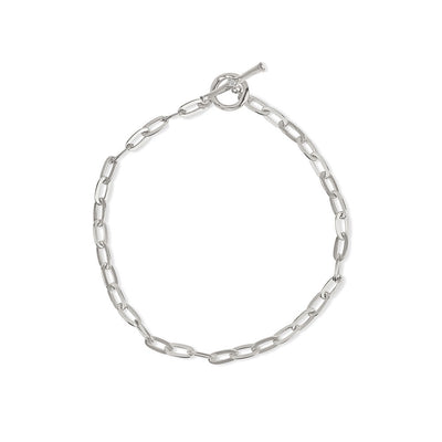 Inthefrow Saturn Bracelet - Silver - Edge of Ember Jewellery