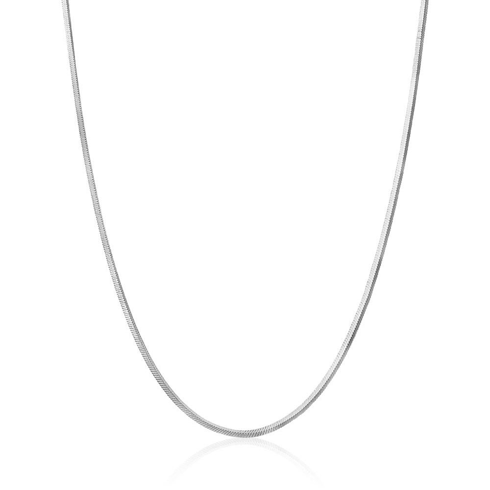 Men's Snake Chain Necklace - Edge of Ember Jewellery