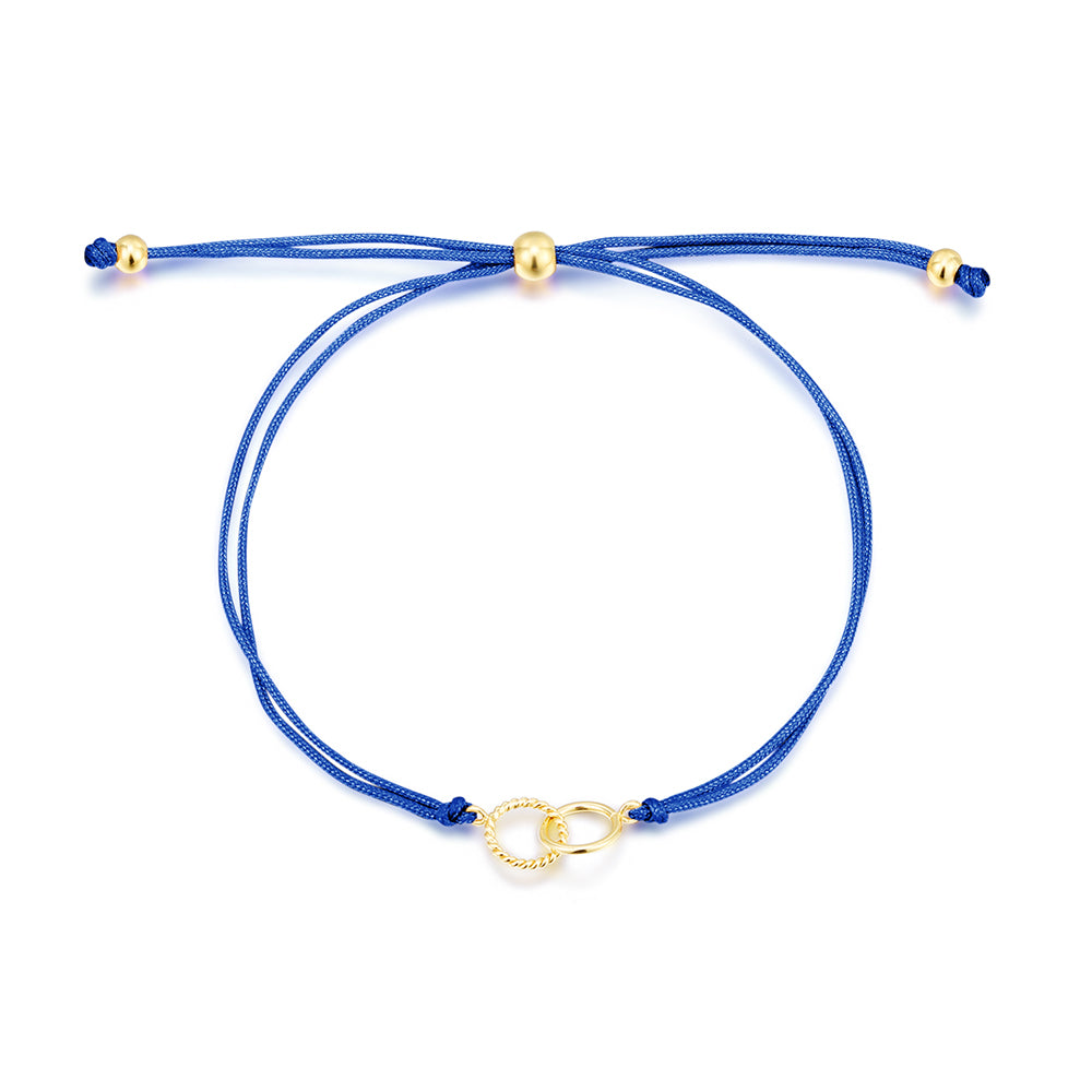 Blue Friendship Bracelet - Edge of Ember Jewellery