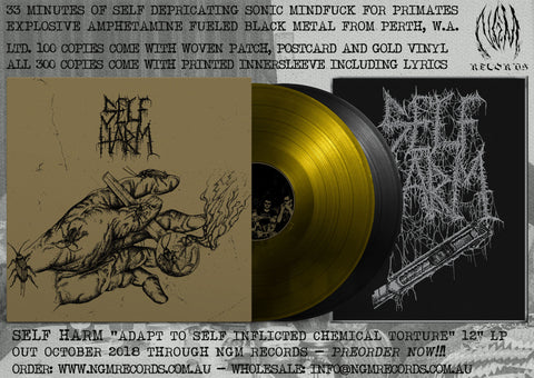 Self Harm - Adapt To Self Inflicted Chemical Torture 12""