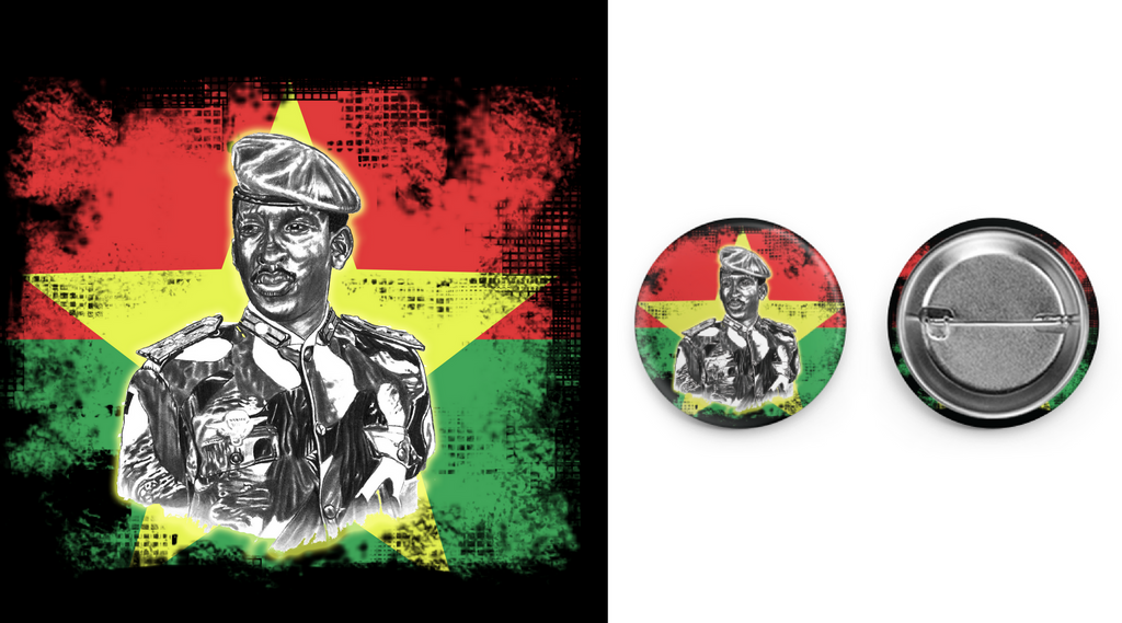 Thomas Sankara Circle Button