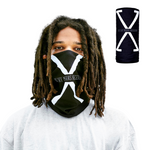 Represent with this Malcolm X 'By Any Means Neccessary' breathable , washable, cultural, and fashionable Malcolm X Neck Gaiter | Face Mask.