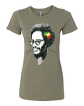 Walter Rodney Rasta Color Womens T-Shirt