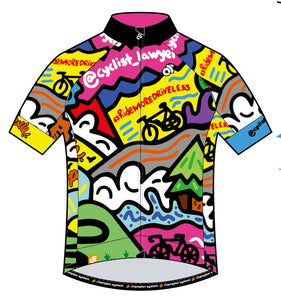 "TheCyclist-Lawyer - Apex Pro Short Sleeve Jersey ""My Favorite Things"""