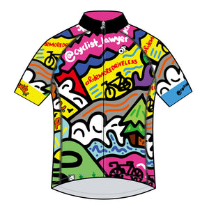 "TheCyclist-Lawyer - Tech Pro Short Sleeve Jersey - ""My Favorite Things"""