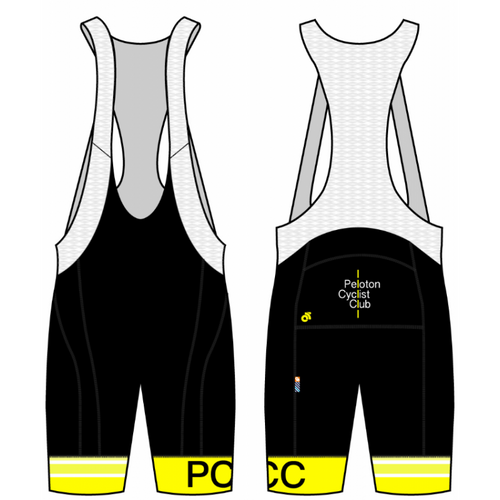 PCC Yellow Apex Bib Short