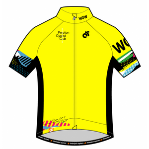 PCC Yellow Apex Pro Short Sleeve Jersey