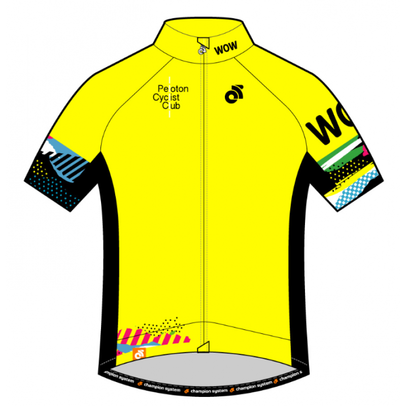 PCC Yellow Apex Summer Short Sleeve Jersey